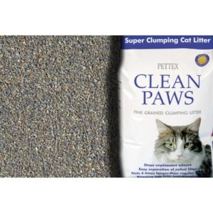 Clean Paws Super Clumping Cat Litter 15kg