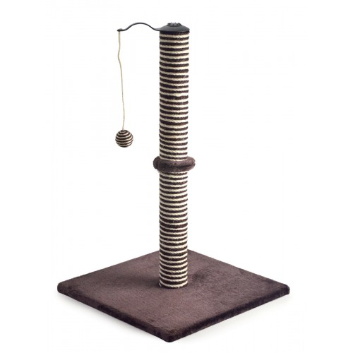 Acticat Premo Xl Deluxe Scratch Post Chocolate 70cm