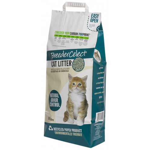 Breeder Celect Cat Litter 20ltr