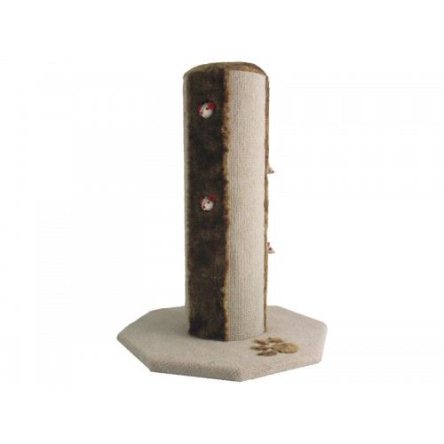 Cat Walk Scratch Post Tokyo Anti Brown/beige 16 X16 X21″