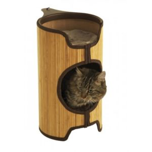 Jolly Moggy Natural Bamboo Cat Tower