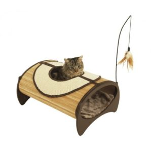 Jolly Moggy Natural Bamboo Cat Pod