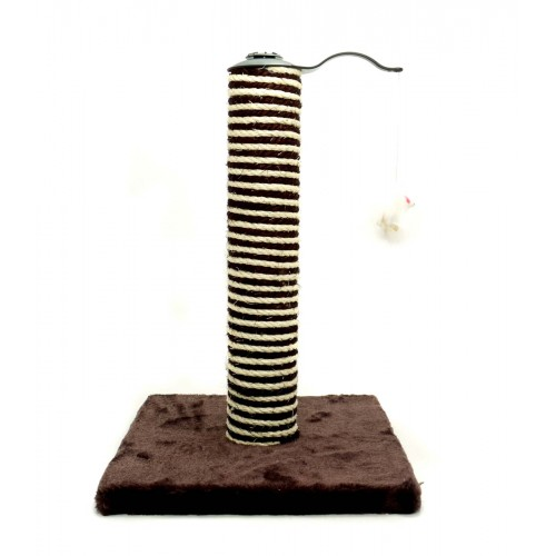Acticat Premo Deluxe Scratch Post Chocolate 30.5×30.5x45cm