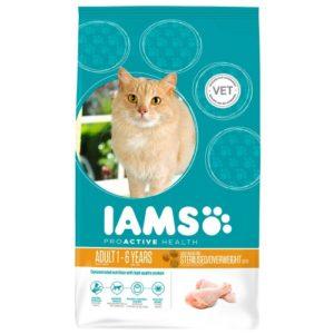Iams Cat Adult Light In Fat 2.55kg