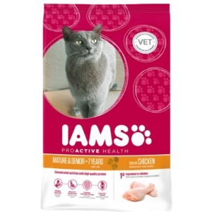 Iams Cat Senior & Mature 7+ 2.55kg