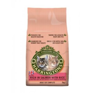 Harringtons Complete Cat Salmon & Rice 2kg