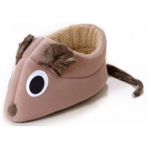 Novelty Collection Fleece Mouse Bed Camel