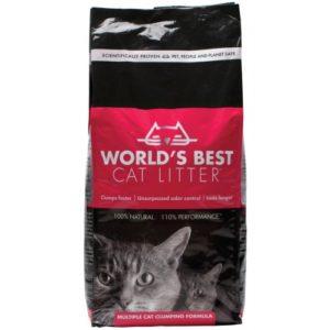 Worlds Best Multiple Cat Litter Clumping Formula 3.18kg