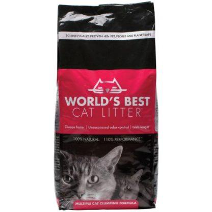 Worlds Best Multiple Cat Litter Clumping Formula 12.7kg