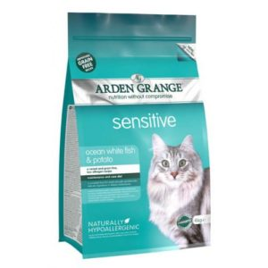 Arden Grange Cat Sensitive With Fresh Fish & Potato 4kg