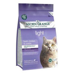 Arden Grange Cat Light With Fresh Chicken & Potato 4kg