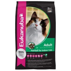 Eukanuba Cat Adult Hairball Chicken & Liver 2kg