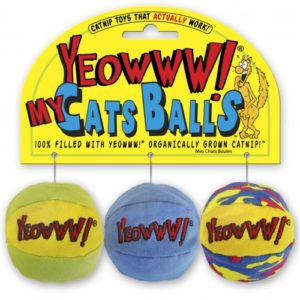 Yeowww My Cats Balls 2″ 3 Pack