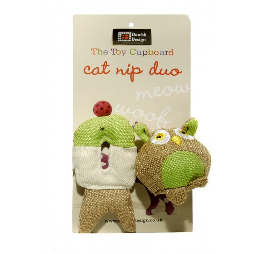 Fido And Fish Duo Cat Toys