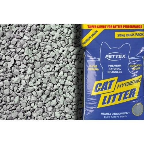 Pettex Premium Grey Cat Litter Granules 10kg