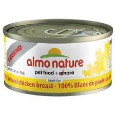 Almo Nature Cat Adult Chicken Breast 70g 12pk