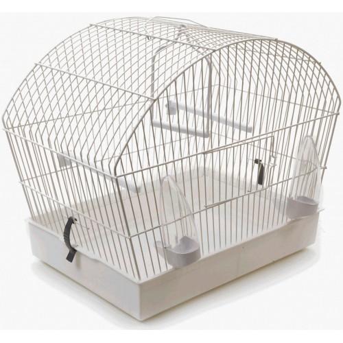 Alpine Bird Cage White 40x25x36cm