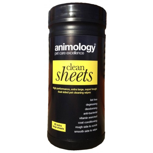 Animology Clean Sheets 80pk