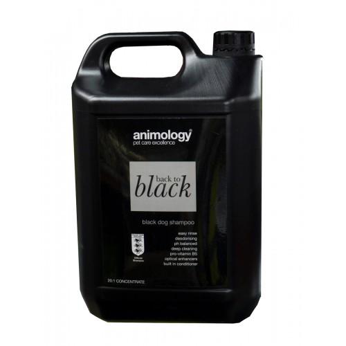 Animology Dog Back To Black Shampoo 5ltr