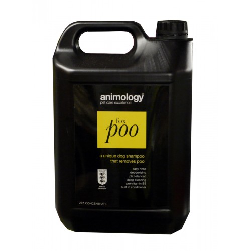 Animology Dog Fox Poo Shampoo 5ltr