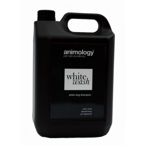 Animology Dog White Wash 20:1 Concentrate Shampoo 5ltr