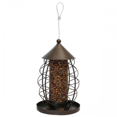Antique Lantern Nut Feeder