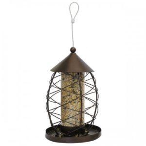 Antique Lantern Seed Feeder