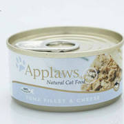 Applaws Cat Can Tuna Fillet & Cheese 70g