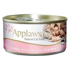 Applaws Cat Can Tuna Fillet & Prawn 156g