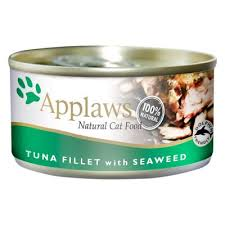 Applaws Cat Can Tuna Fillet & Seaweed 70g