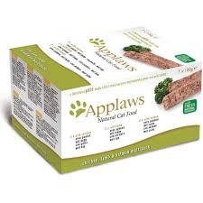 Applaws Cat Pate Multi Pack Chicken Lamb & Salmon