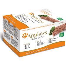 Applaws Cat Pate Multi Pack Turkey Beef & Ocean Fish
