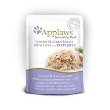 Applaws Cat Pouch Chicken With Liver In Jelly 70g