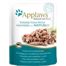 Applaws Cat Pouch Tuna Wholemeat With Mackerel In Jelly 70g
