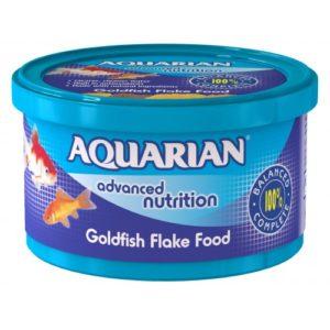 Aquarian Goldfish Flakes 50g