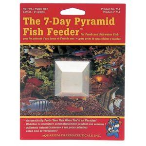 Aquarian The 7 Day Pyramid Fish Feeder