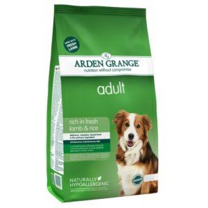 Arden Grange Adult Rich In Fresh Lamb & Rice 12kg