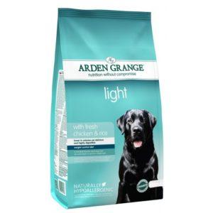 Arden Grange Light With Fresh Chicken & Rice 2kg