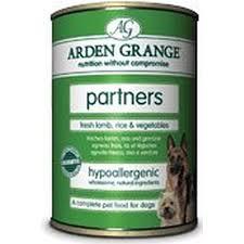Arden Grange Partners Fresh Lamb Rice & Vegetables 395g X24