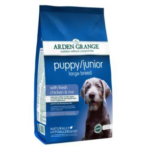 Arden Grange Puppy/junior Large Breed With Fresh Chicken & Rice 12kg