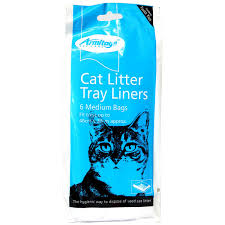 Armitage Cat Litter Liners Medium Blue