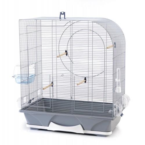 Arte 50 Bird Cage Silver 64x38x71cm