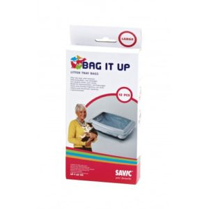 Bag It Up Litter Tray Bags Large 46x40cm 12pack