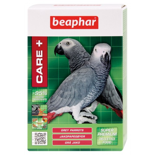 Beaphar Care+ Grey Parrot Food 1kg