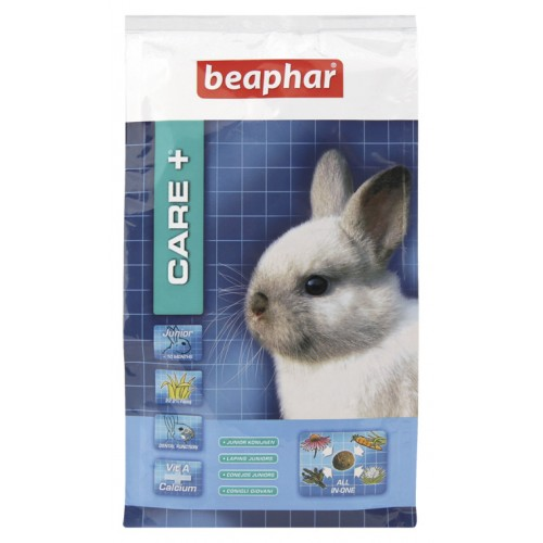 Beaphar Care+ Rabbit Food Junior 1.5kg