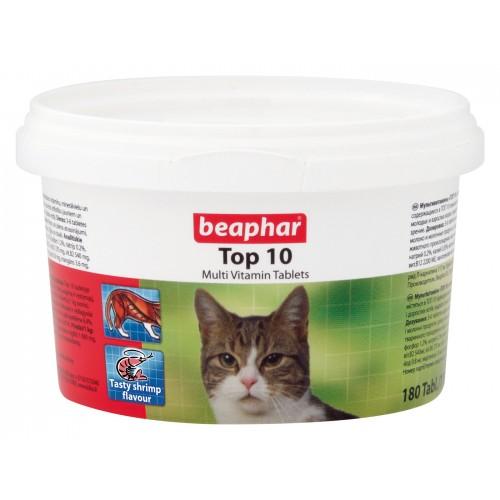Beaphar Cat Top 10 Multi-vitamin 180 Tablets
