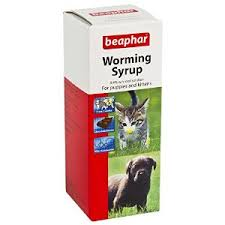 Beaphar Dog & Cat Worming Syrup 45ml