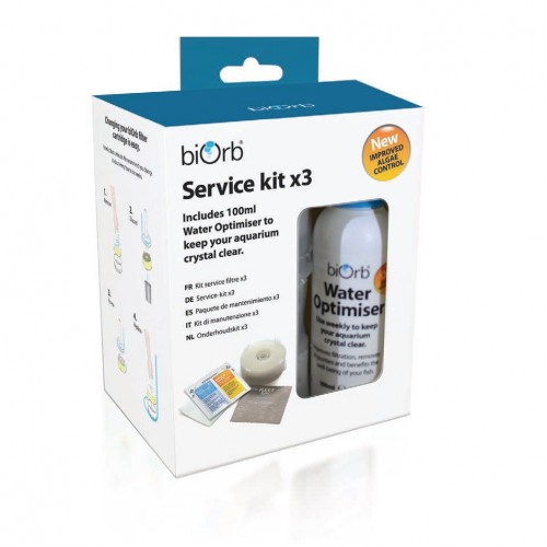Biorb Service Kit Plus Water Optimiser 3 Pack