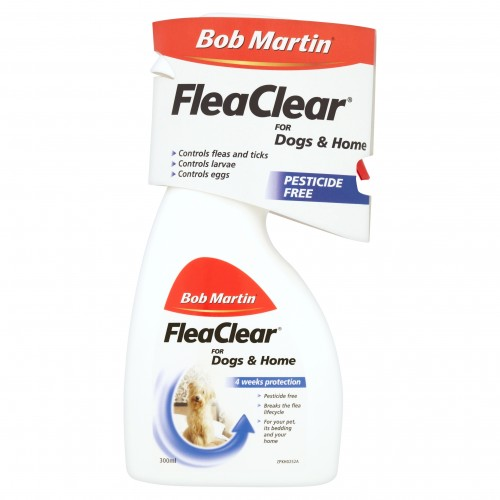 Bob Martin Flea Clear Spray For Dogs And Puppies 300ml