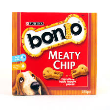 Bonio Meaty Chip 375g x5